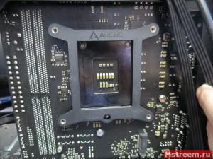 Установка кулера Arctic Freezer 34 eSports DUO