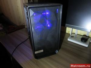 Проницаемость передней панели для подсветки. Корпус Fractal Design Meshify C Mini