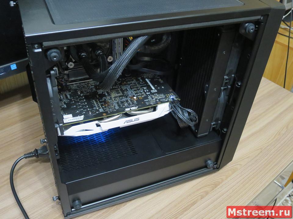 Сборка компьютера в корпусе Fractal Design Meshify C Mini