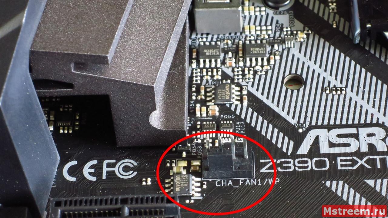 Контроллер вентиляторов. Материнская плата ASRock Z390 Extreme 4