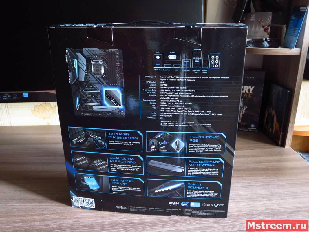 Материнская плата ASRock Z390 Extreme 4