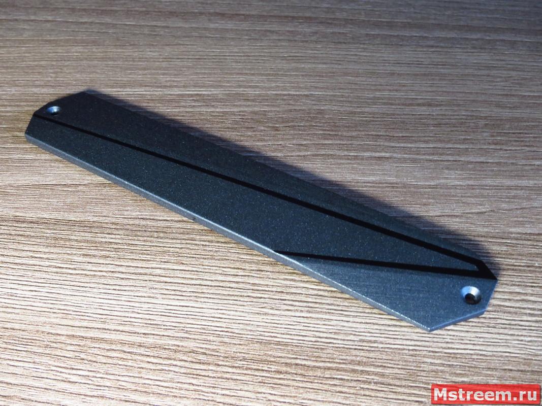 Радиатор охлаждения M.2 SSD. Материнская плата ASRock Z390 Extreme 4