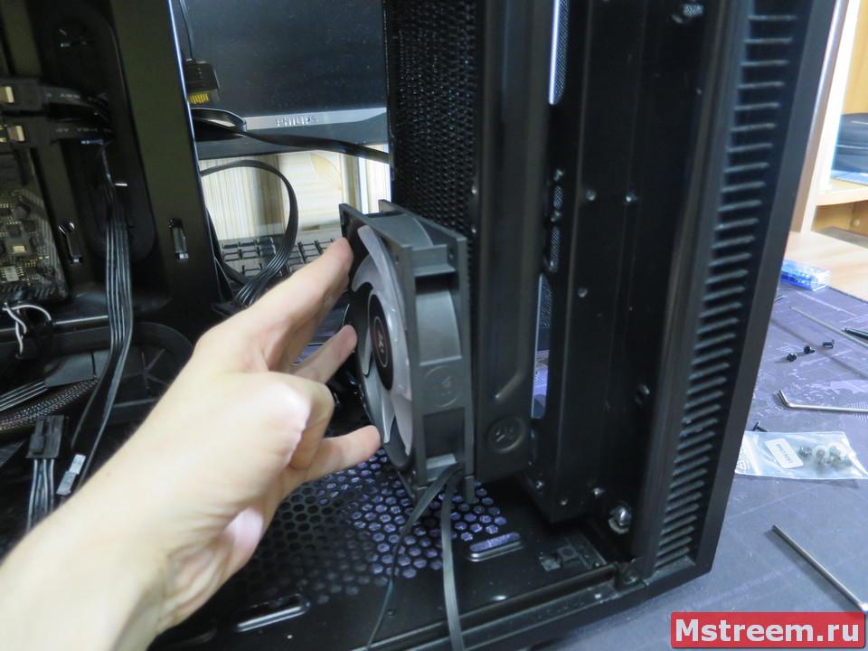 Сборка водяной системы охлаждения EK-KIT Classic RGB S240