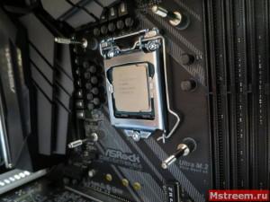 Установка водоблока на процессор ekwb EK-Supremacy Classic RGB