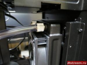Установка фитингов и шлангов водяной системы охлаждения компьютера