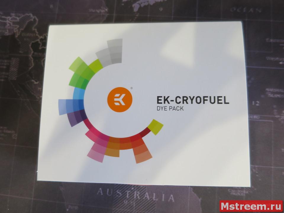 Краситель для охлаждающий жидкости EK-CryoFuel Dye Pack