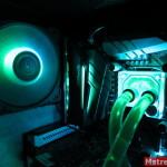 Водяная система охлаждения компьютера EK-KIT Classic RGB S240 и RGB подсветка компонентов
