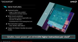 Архитектура процессоров AMD Excavator