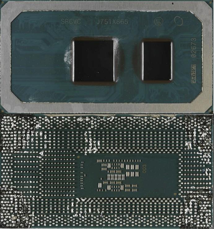Intel Cannon Lake Core i3 8121U (10 нанометров)