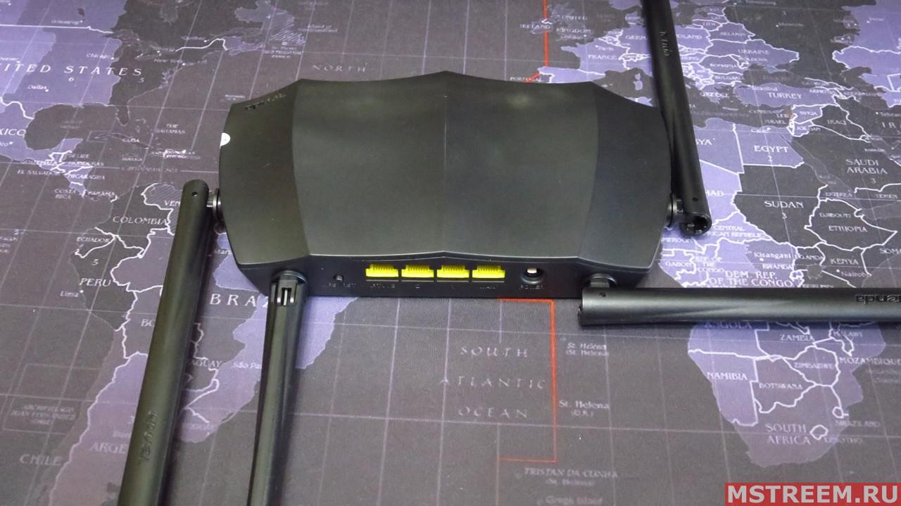 Wi-Fi антенны роутера Tenda AC8