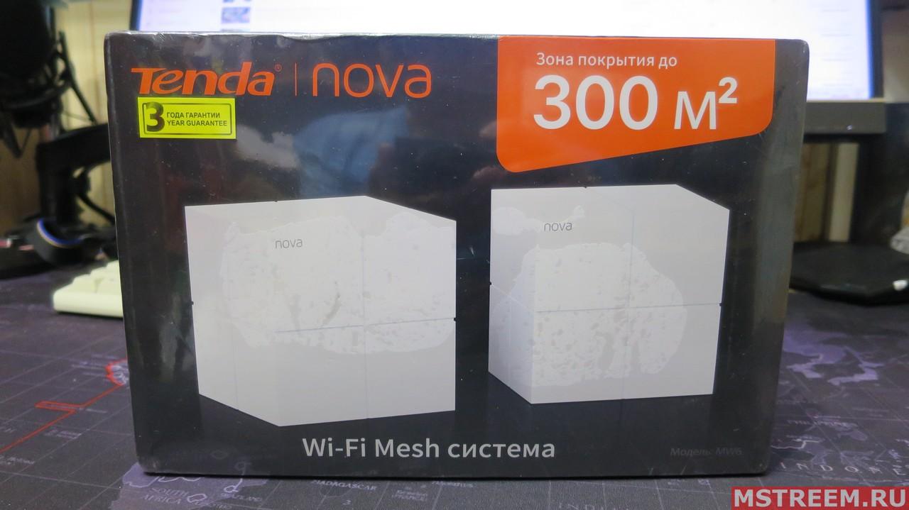 Wi-Fi Mesh система Tenda MW6