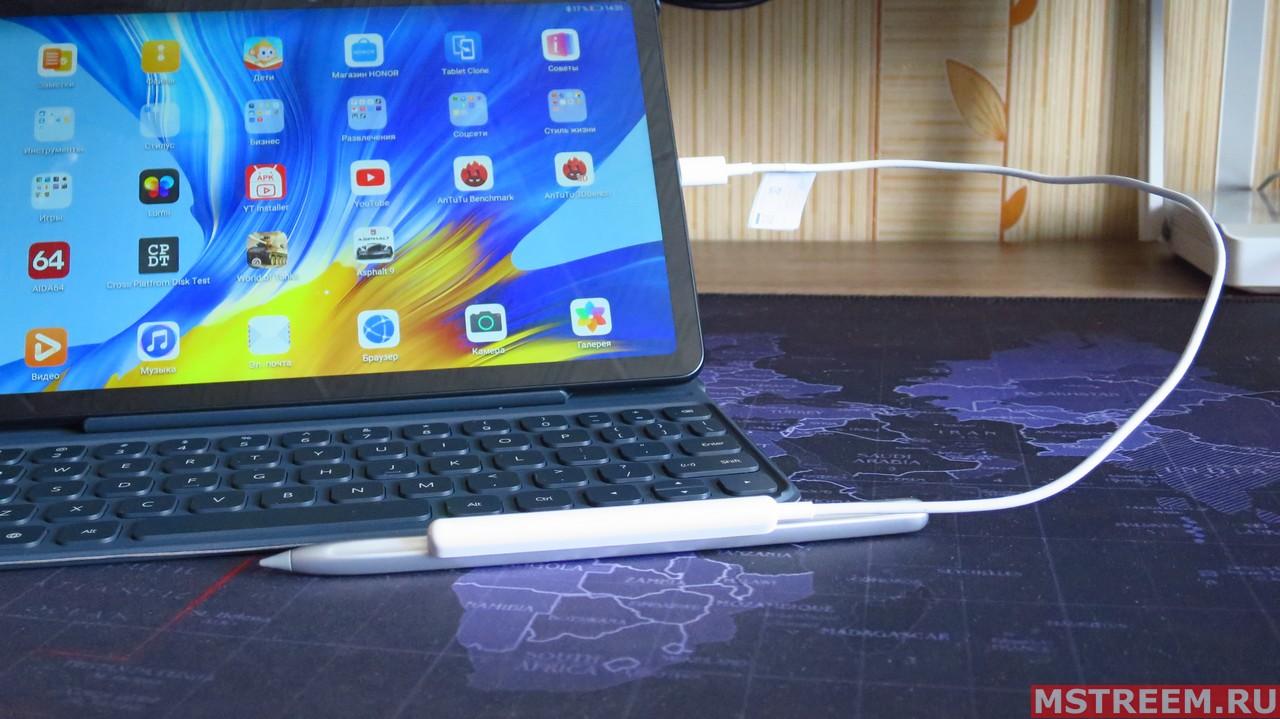 Стилус Magic-Pencil и работа с планшетом Honor Pad V6
