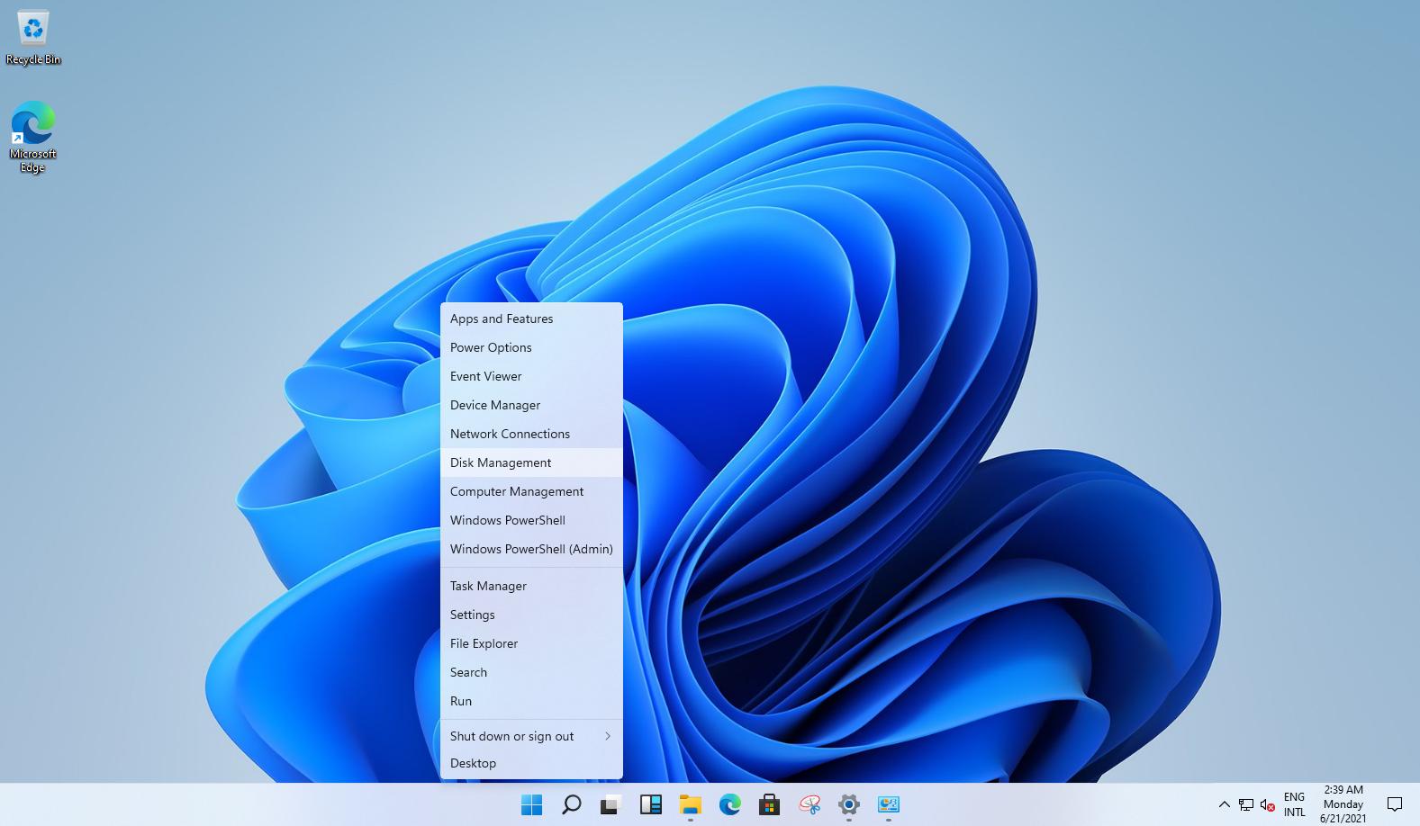 Дизайн окон контекстного меню в Windows 11